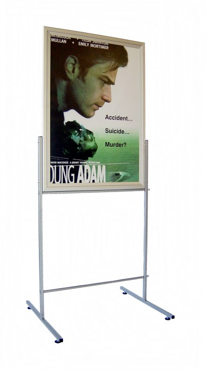 Display Stand – A1. Double Sided. Portrait. 1900 mm UV Protected.