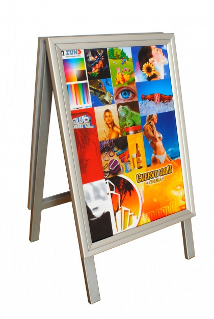 "A2 – Snap Frame Sandwich Boards ""Double Sided"""