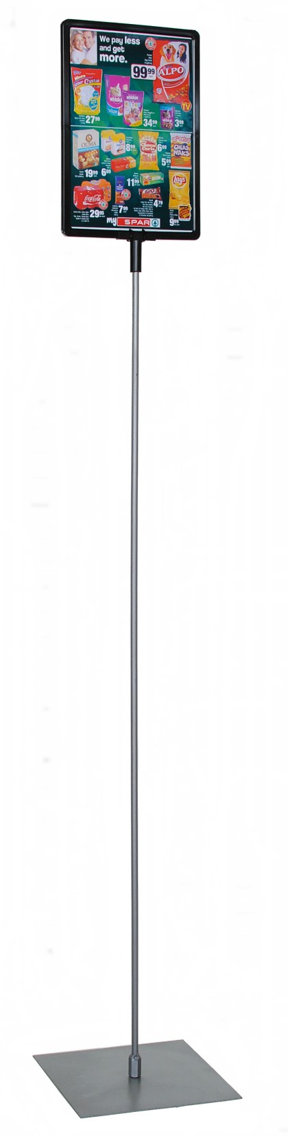 Lollipop Stands Free Standing Display Stand Telescopic Height